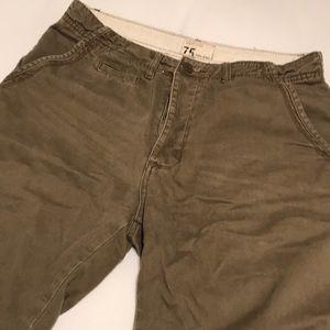 Shorts - Zara Green Shorts Men